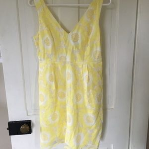 Plenty by Tracey Reese yellow lace dress
